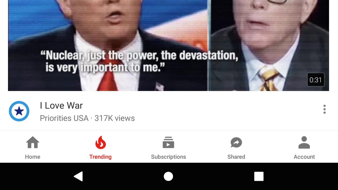 Sta arrivando la nuova interfaccia di YouTube per Android con navbar inferiore
