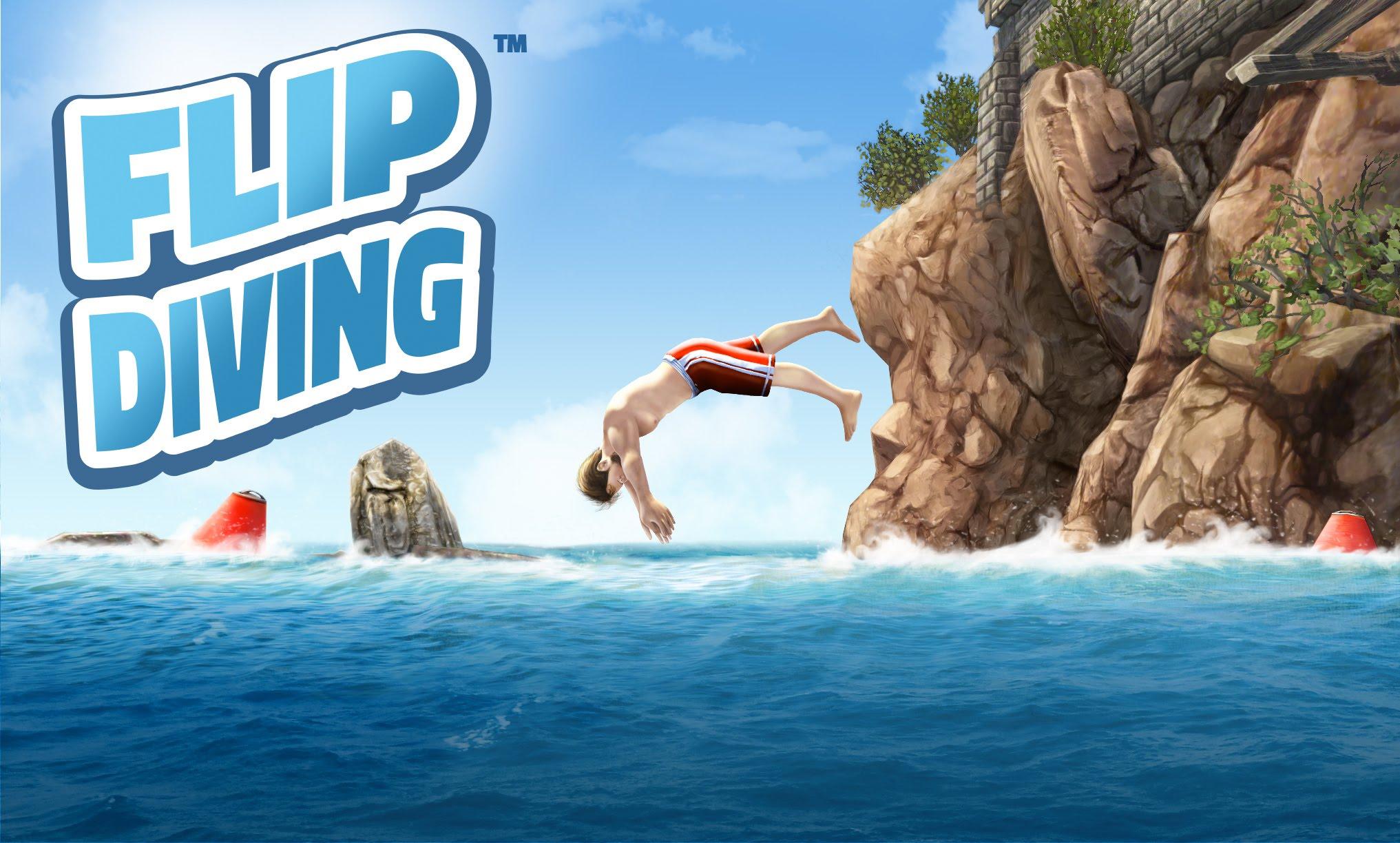 Flip Diving, il gioco per smartphone che vi rende esperti di tuffi (foto e video)