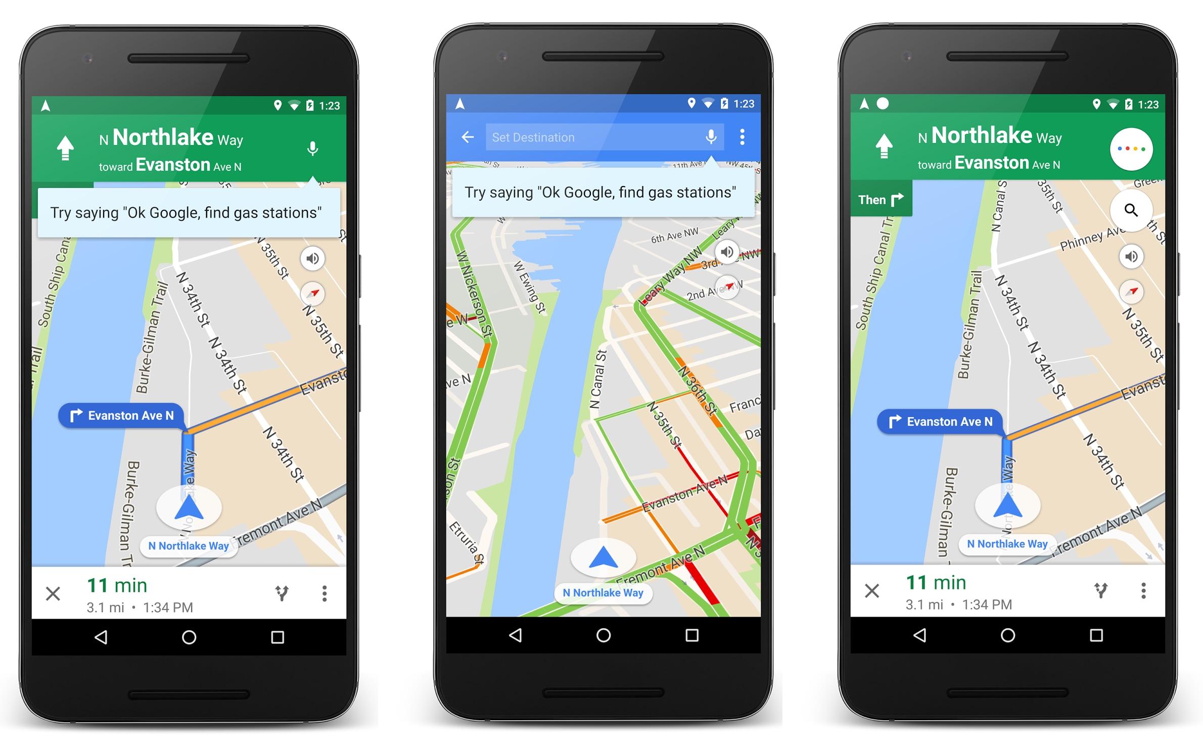 Google annuncia nuovi comandi vocali per Maps (foto)