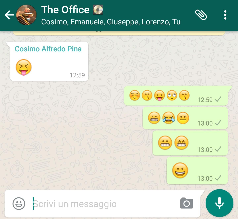 WhatsApp Beta ingrandisce le vostre emoji: ecco come