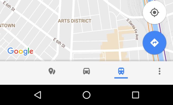 Una nuova barra inferiore di Google Maps si fa vedere in queste immagini (foto)