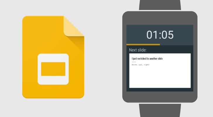 Scorrete le vostre presentazioni con Android Wear!