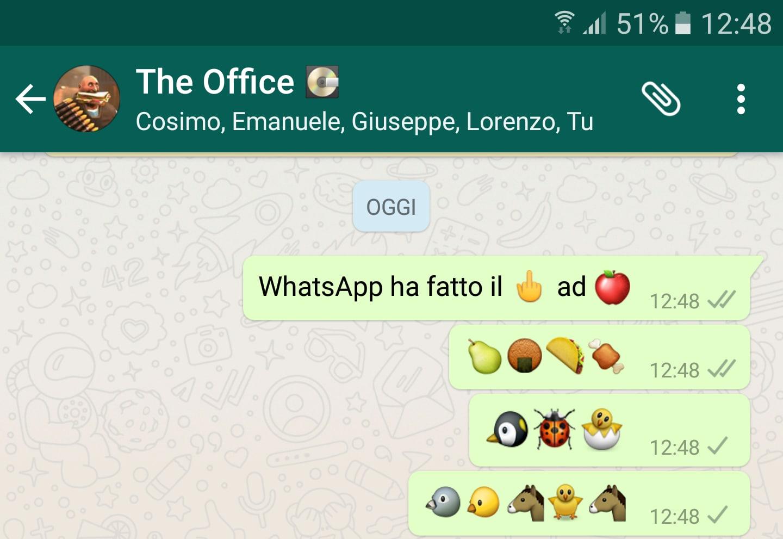 WhatsApp manda a quel paese Apple, anche se un po' di nascosto (foto)