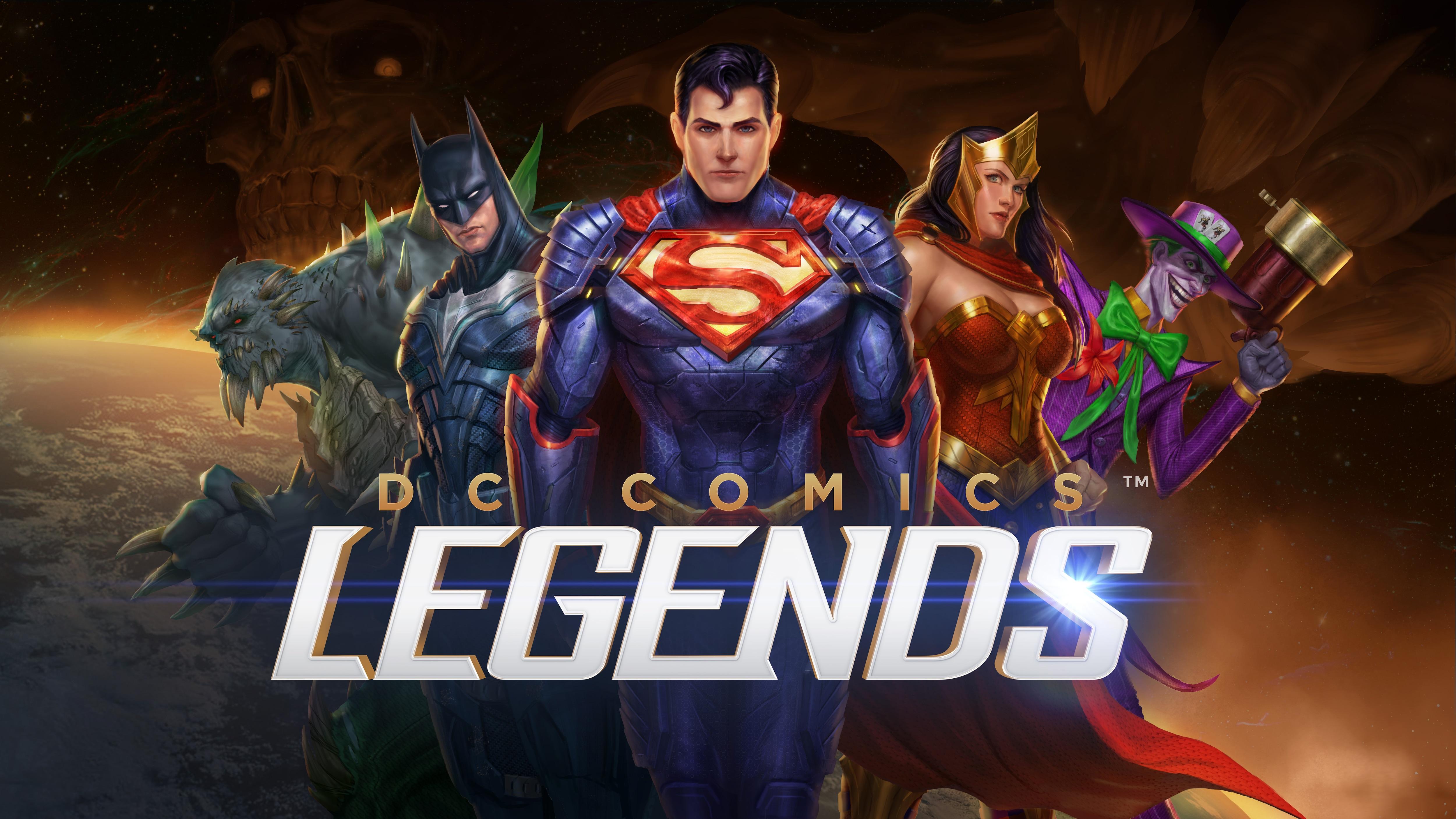 Provate DC Legends in anteprima (download apk)