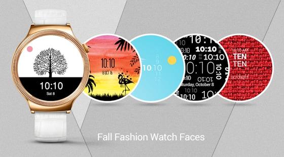 Fall Fashion Watch Faces, i quadranti vincitori del concorso Google disponibili per il download (foto)