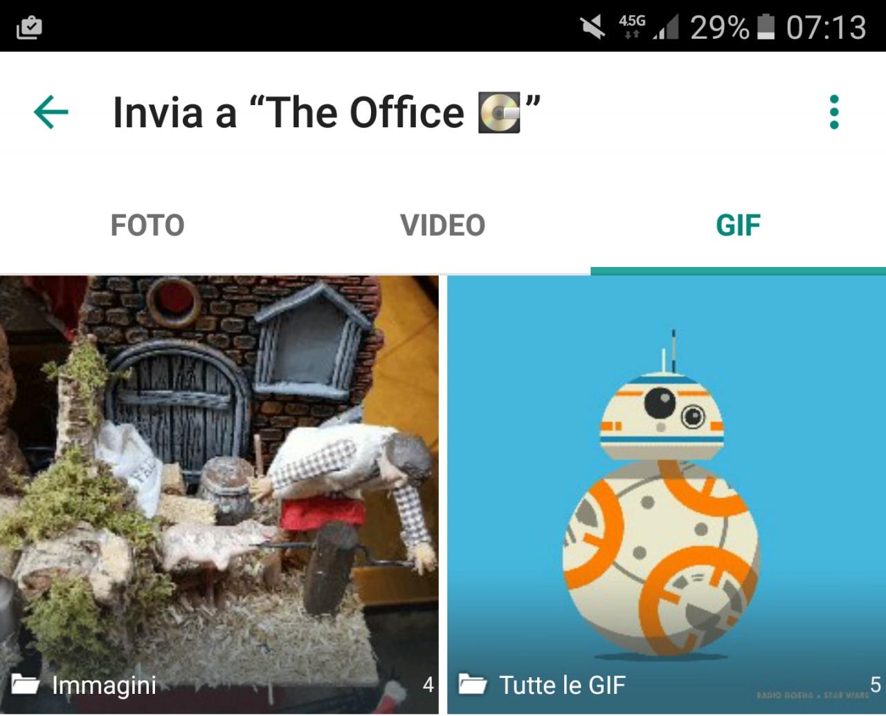 WhatsApp beta supporta le GIF e WhatsApp stabile aggiunge scritte ed emoji su foto e video