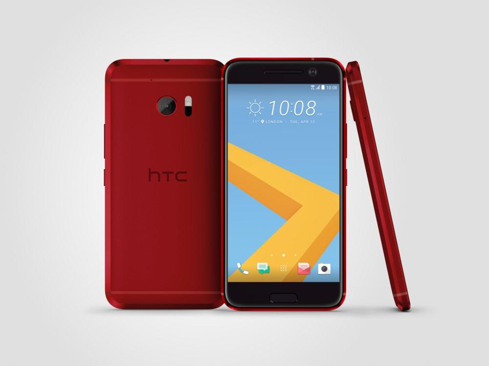 HTC 10 è ora disponibile anche nella colorazione Camelia Red