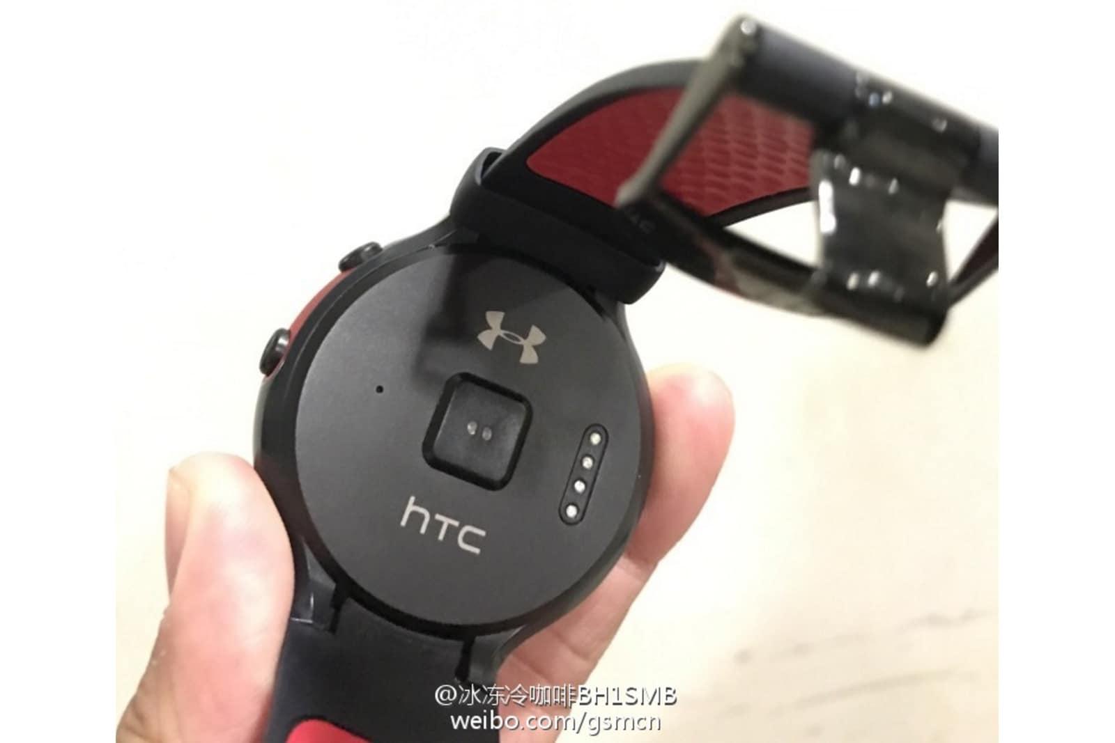 Questo dovrebbe essere lo smartwatch Android Wear di HTC (foto)
