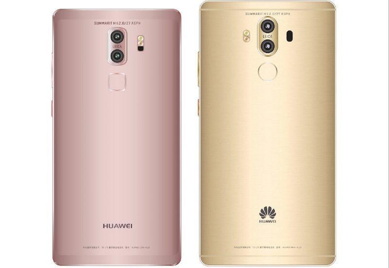 Anche il lato B di Huawei Mate 9 dovrebbe avere due versioni diverse: quale vi piace di più?