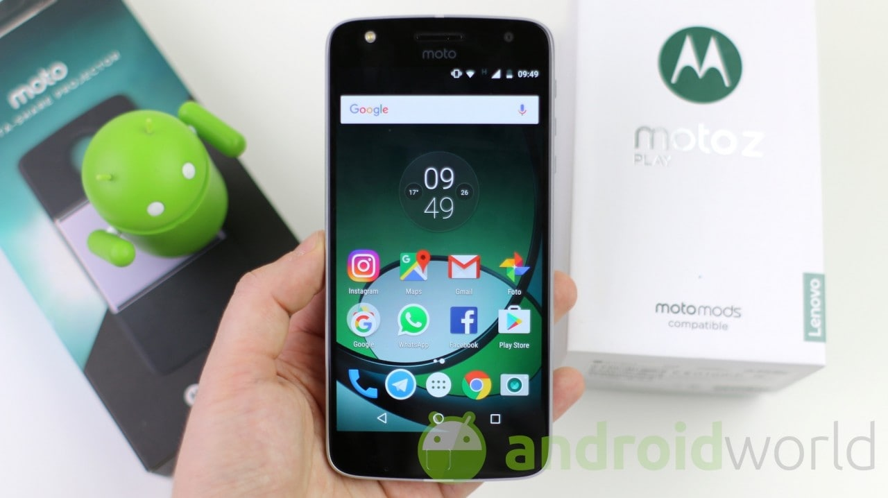 Moto Z e Z Play si aggiornano ad Android 7.1.1 in Brasile con tante novità (foto)