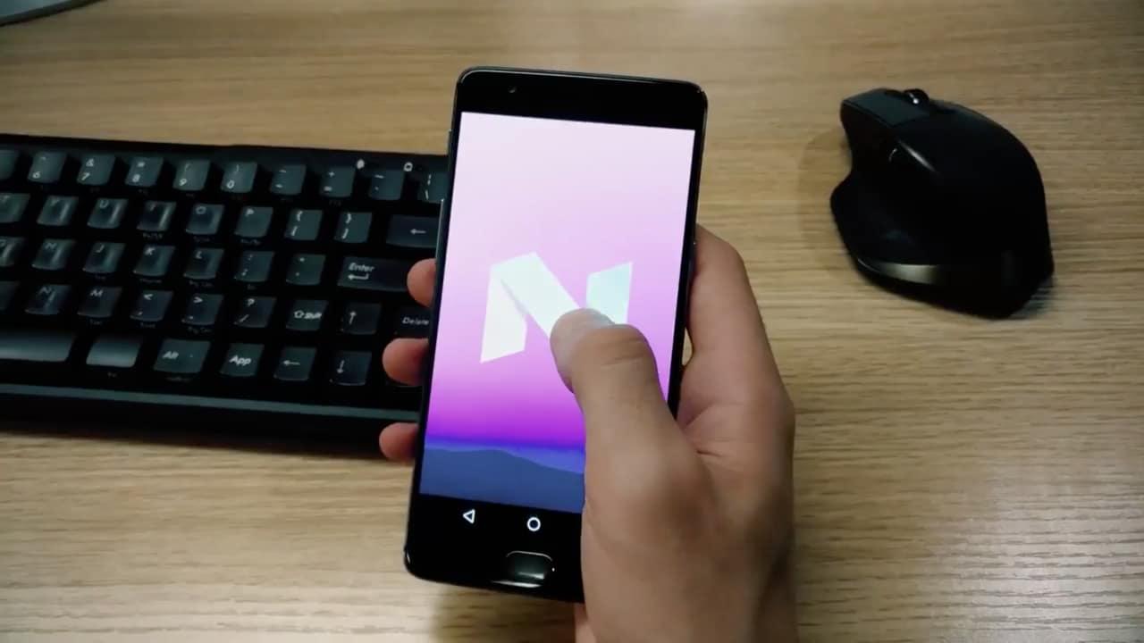 C'è uno OnePlus 3 con Nougat in questo video ufficiale!