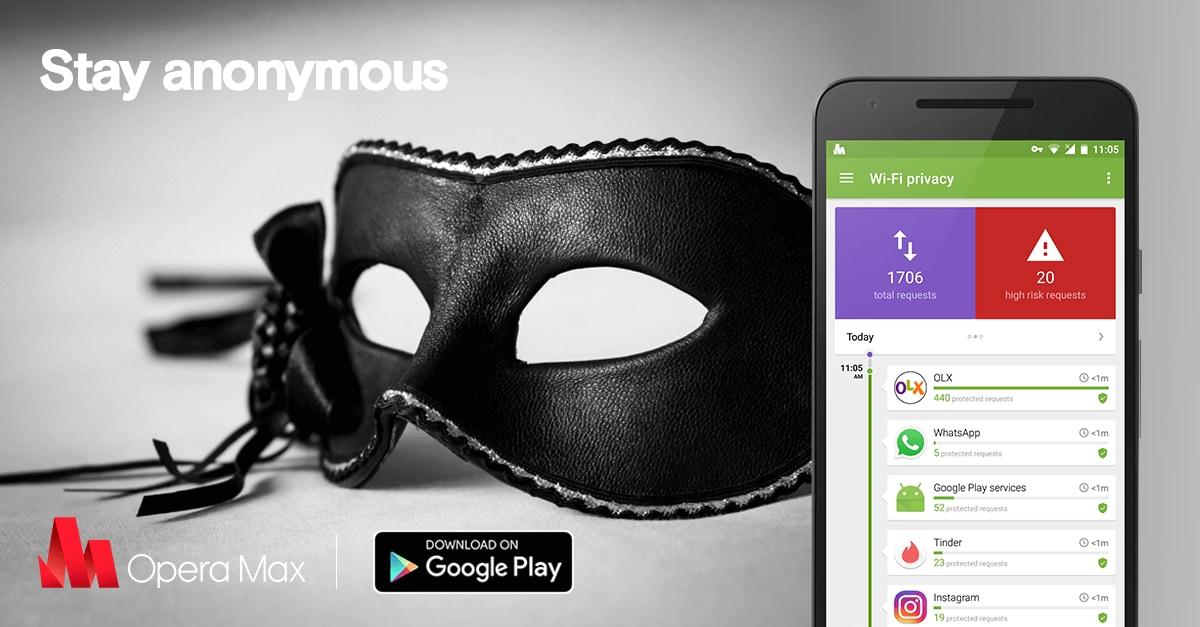 Opera Max vi offre VPN illimitata in cambio di pubblicità nella lockscreen con smartphone in carica