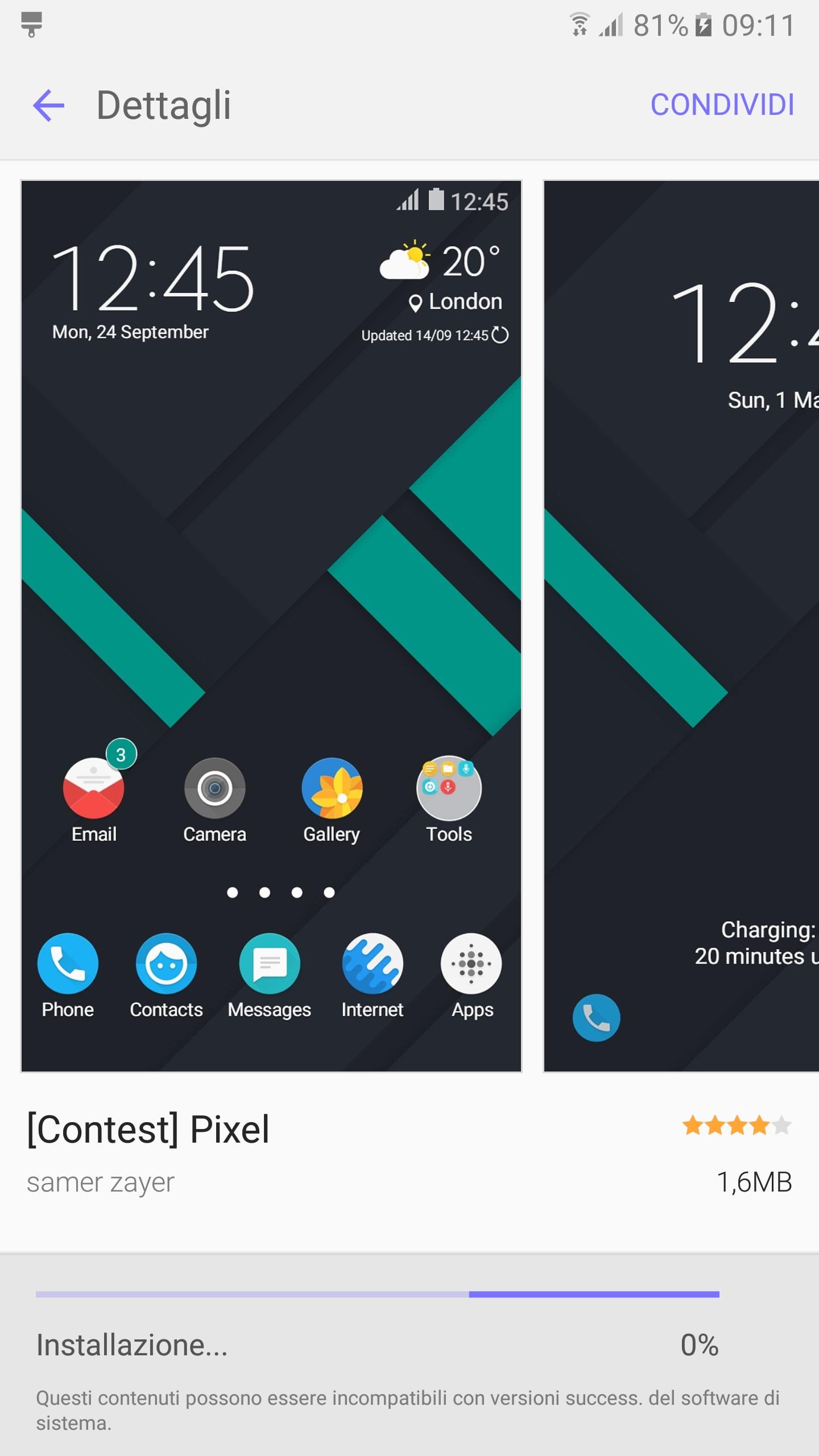 Pixel tema Samsung – 1