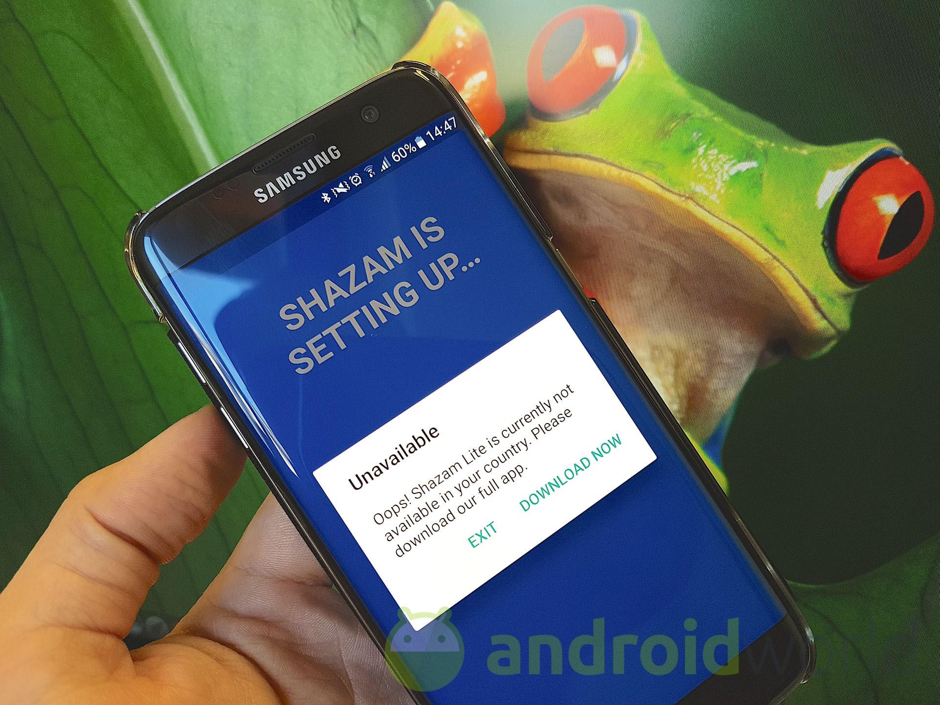 Arriva Shazam Lite: pesa poco più di 3 MB, ma non potete usarla (download apk)