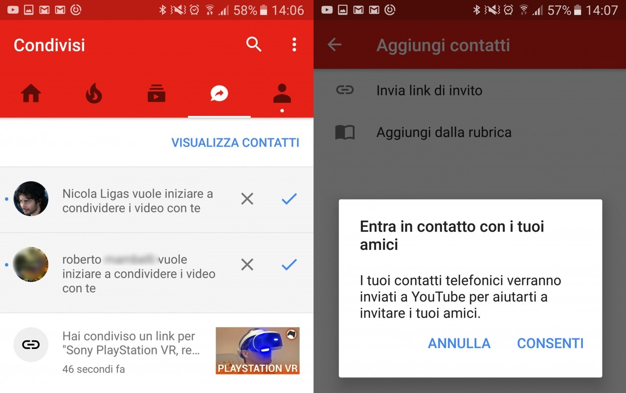 YouTube Condivisi Come Funziona