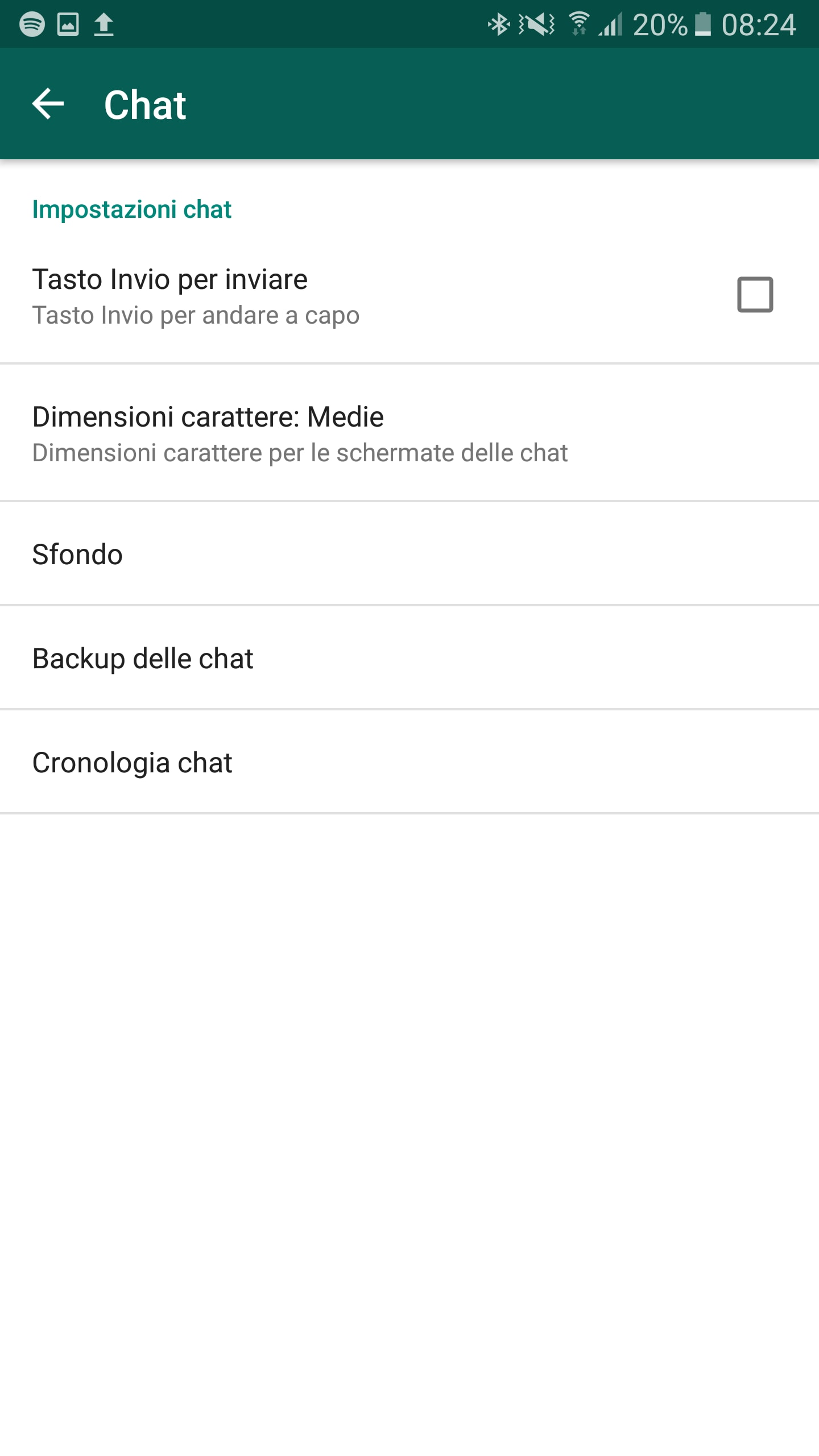 backup cancellazione dati whatsapp – 2
