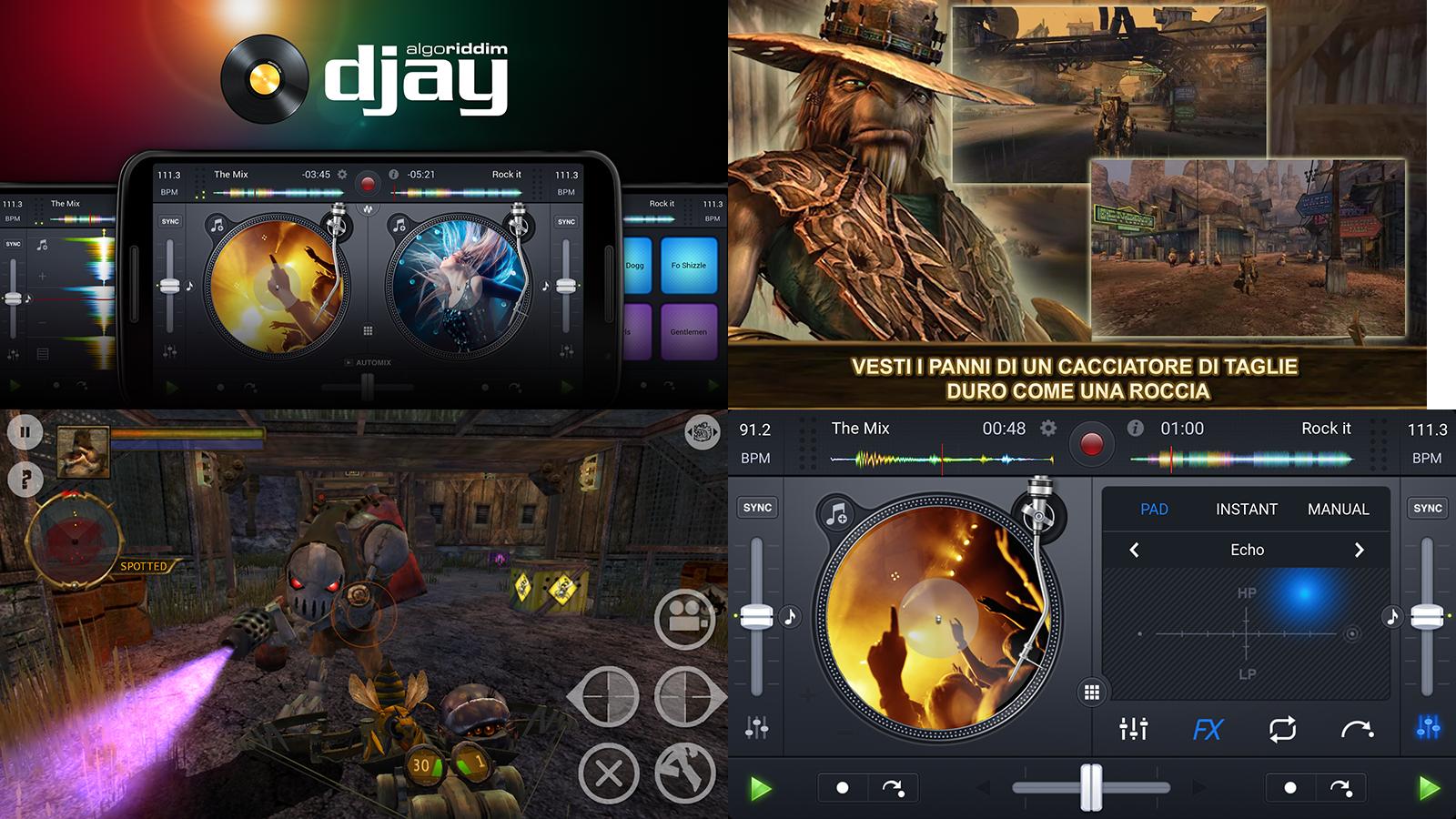 Finalmente due belle offerte della settimana sul Play Store: djay 2 e Oddworld: Stranger's Wrath!