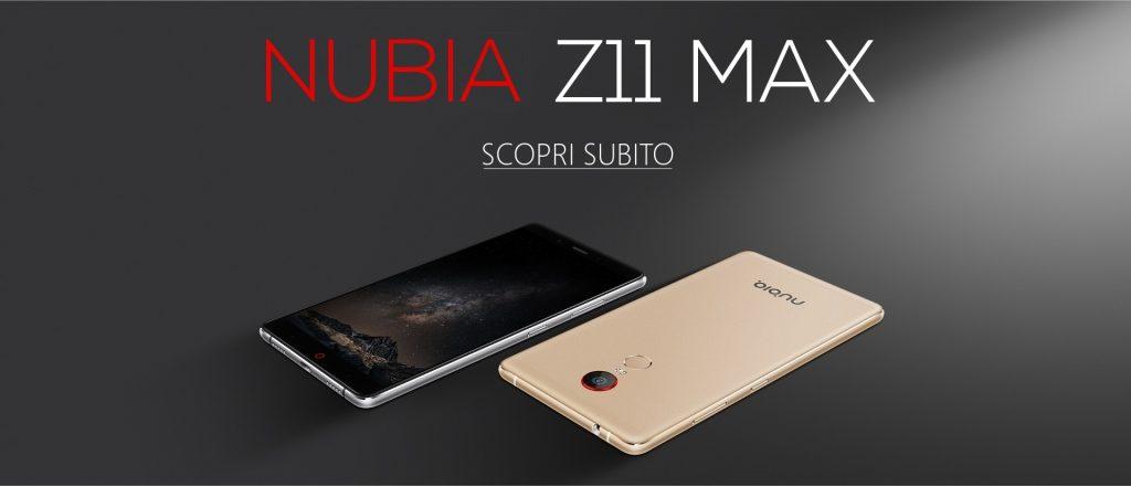 Nubia Z11 Max, aperti i preordini anche in Italia: prezzo speciale di 349€