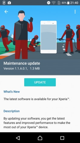 sony -Update-1.1.A.0.1