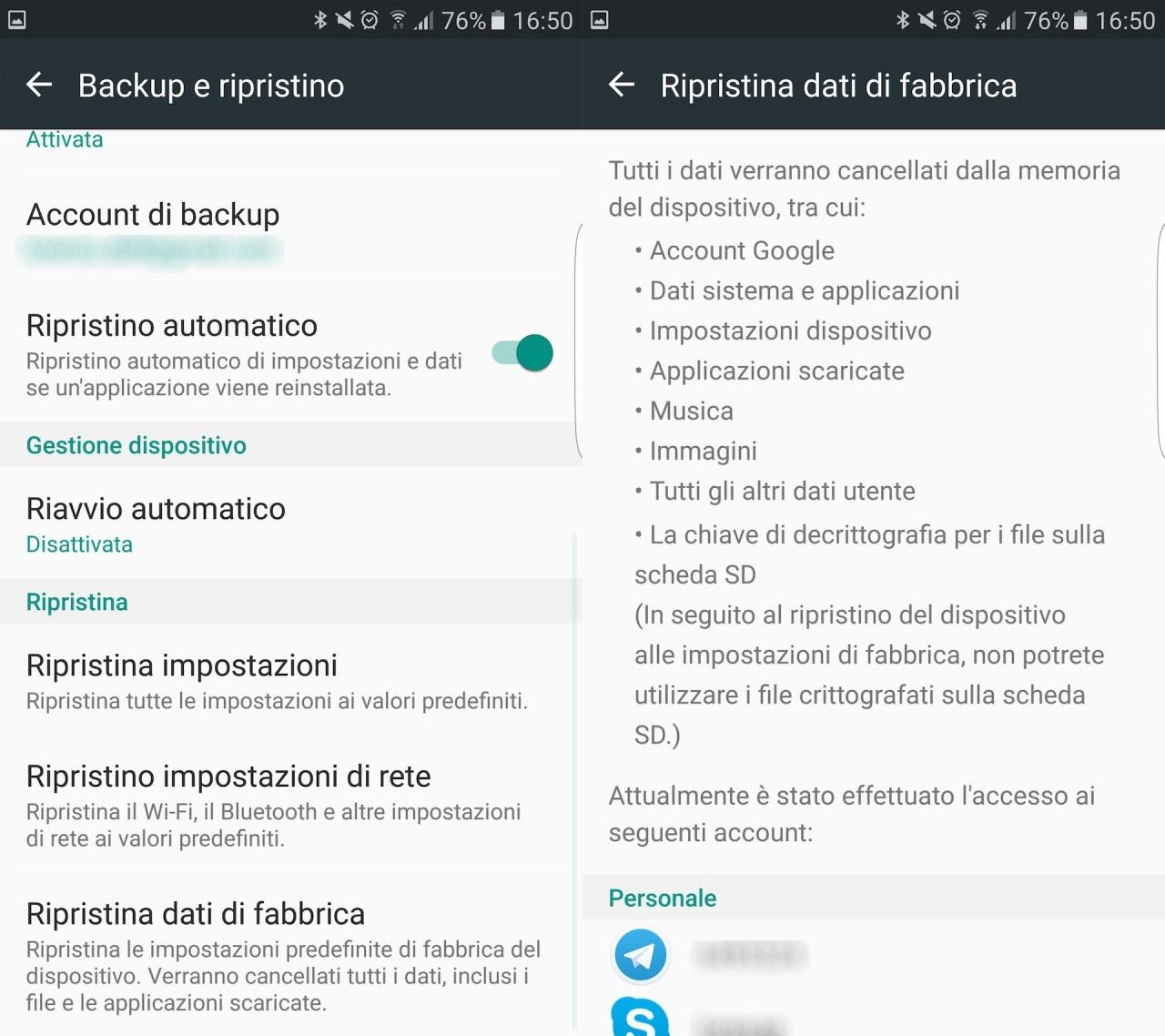 Come Ripristinare Android - 3
