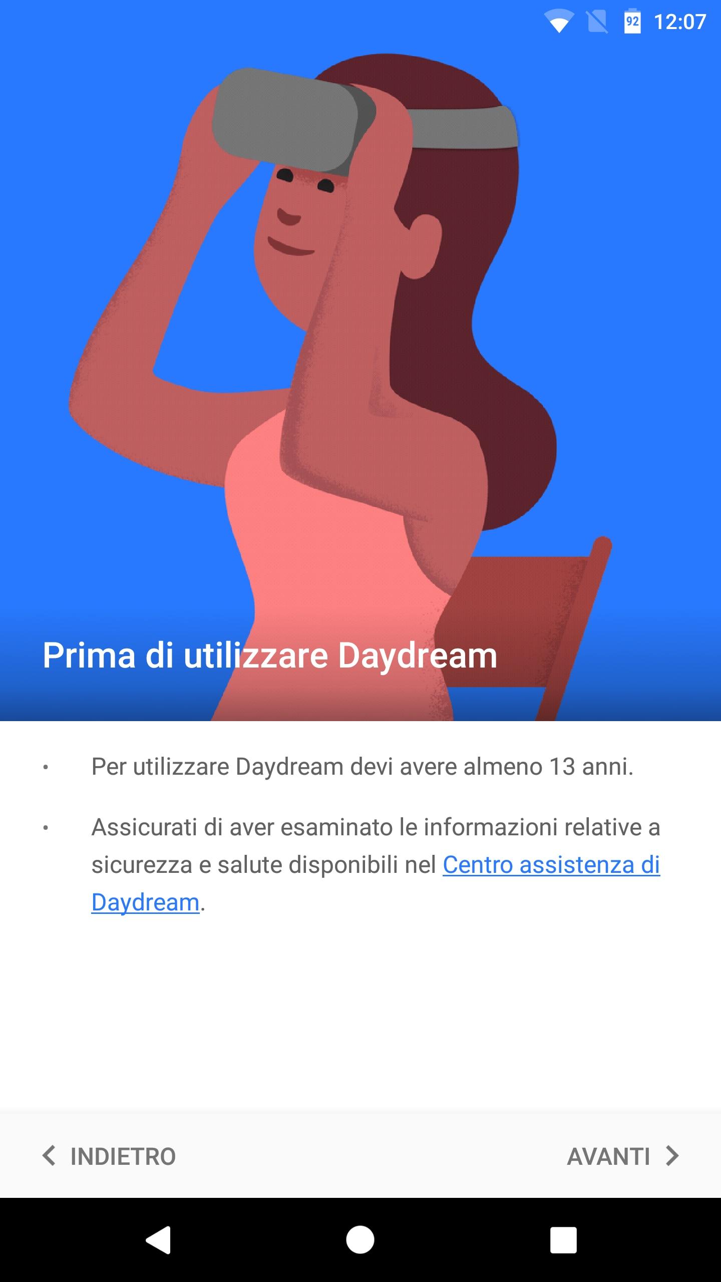 Daydream app – 1