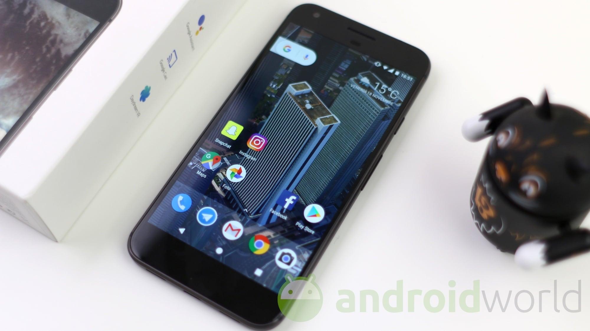 Google Pixel XL, la recensione (foto e video)