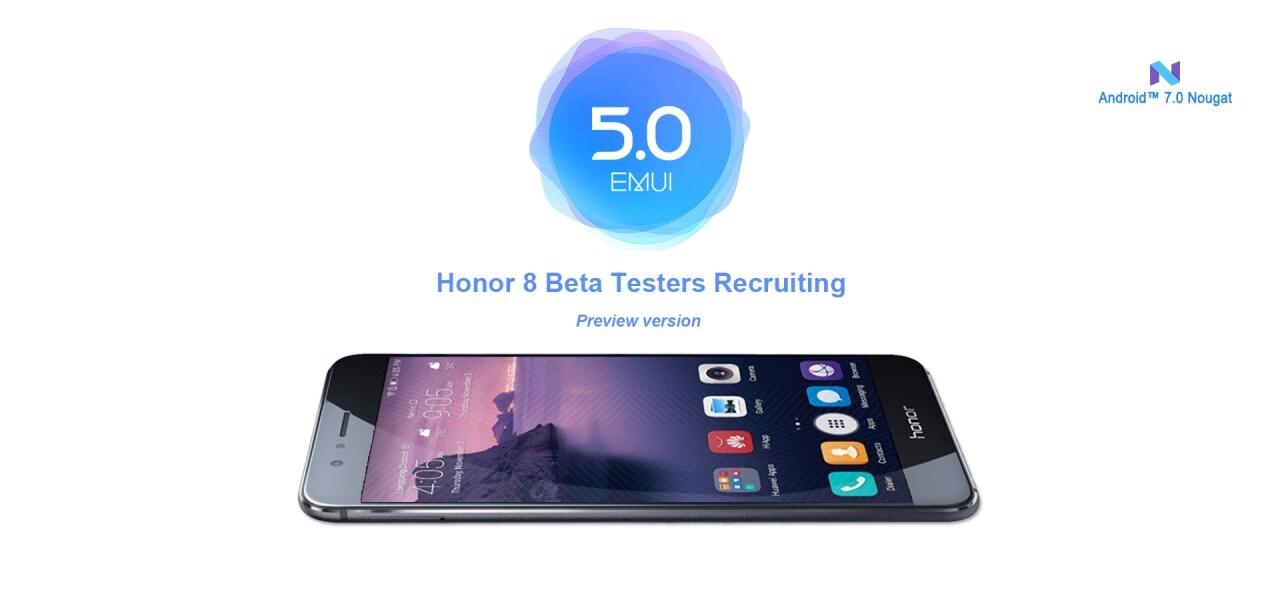 L'aggiornamento ad Android Nougat per Honor 8 è in beta test (aggiornato: anche in Italia)