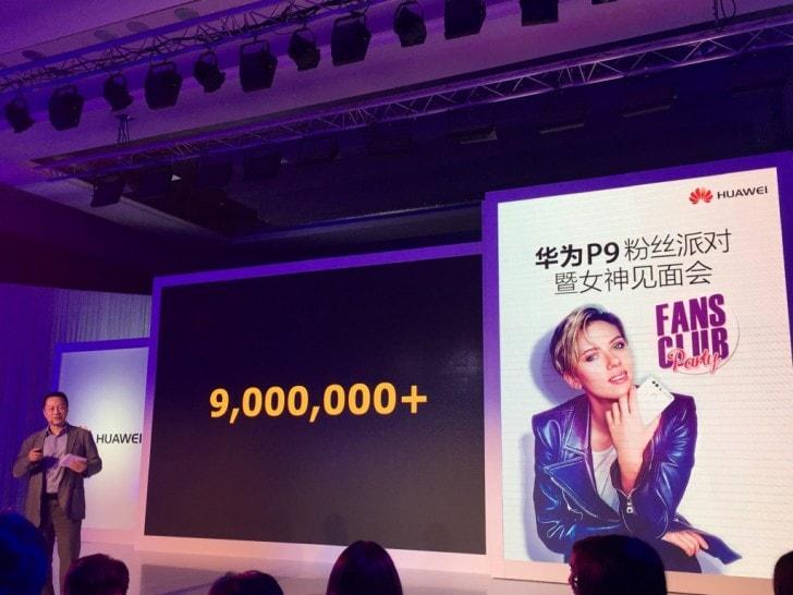 Le vendite di Huawei P9 non si fermano più: superati i 9 milioni