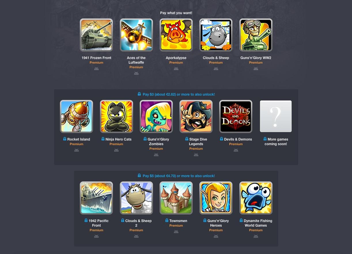 Con il nuovo Humble Mobile Bundle vi portate a casa più di 15 giochi a meno di 5€