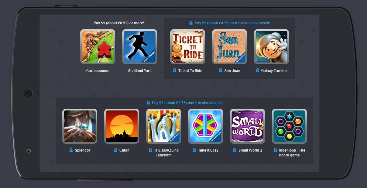 Humble Mobile Bundle Board Games aggiunge tre nuovi giochi (foto)