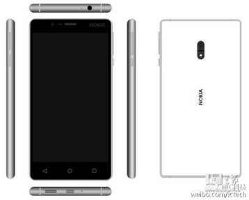 Ecco uno scatto dal vivo di Nokia D1C, e ci sono anche dei disegni (foto)