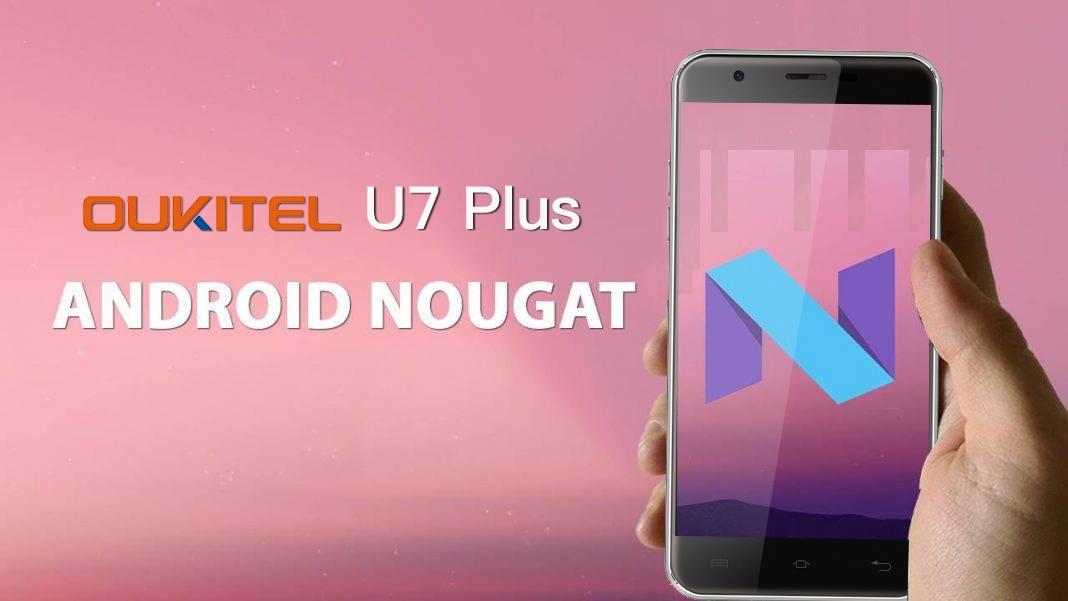 Iniziano i lavori per Nougat su Oukitel U7 Plus, che sarà scontato per il Black Friday