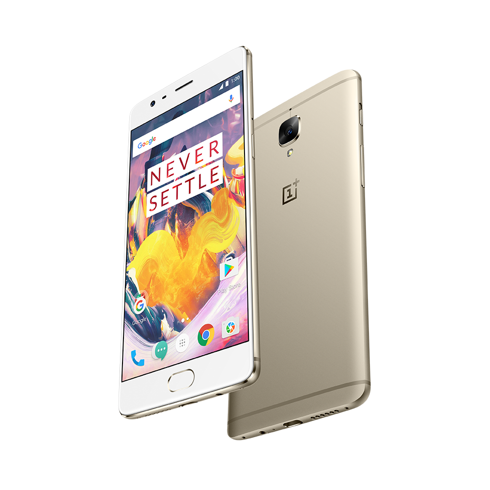 OnePlus 3T Soft Gold – 4