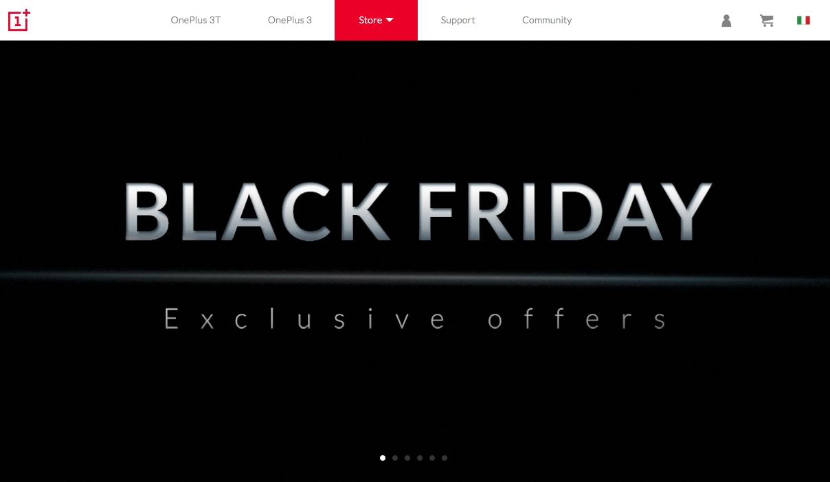 OnePlus 2, OnePlus X e accessori vari in sconto per il Black Friday