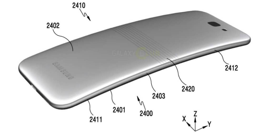 Vi piacerebbe se Galaxy X (lo smartphone pieghevole di Samsung) fosse così? (foto)
