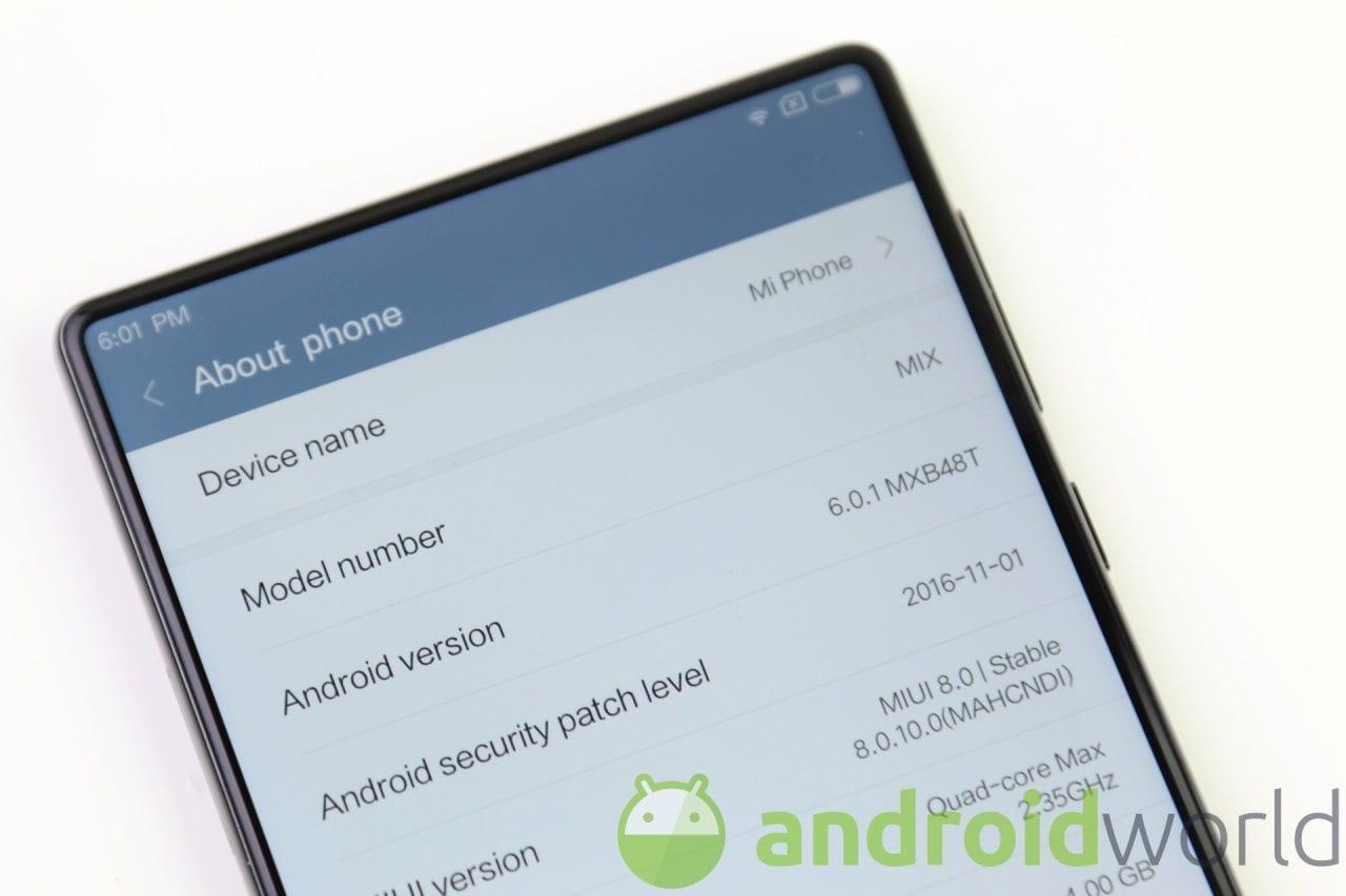 Xiaomi Mi MIX Nano potrebbe essere un Mi MIX da 5,5 pollici senza bordi (foto)