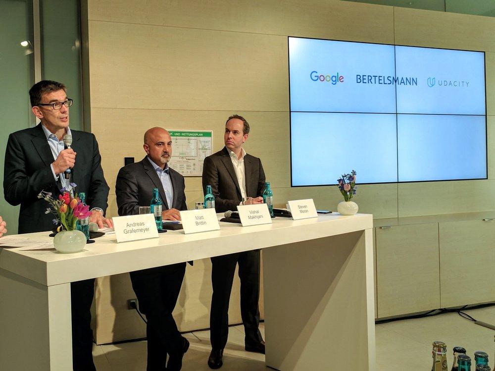 Google, Bertelsmann e Udacity offriranno 10.000 borse di studio per sviluppatori Android