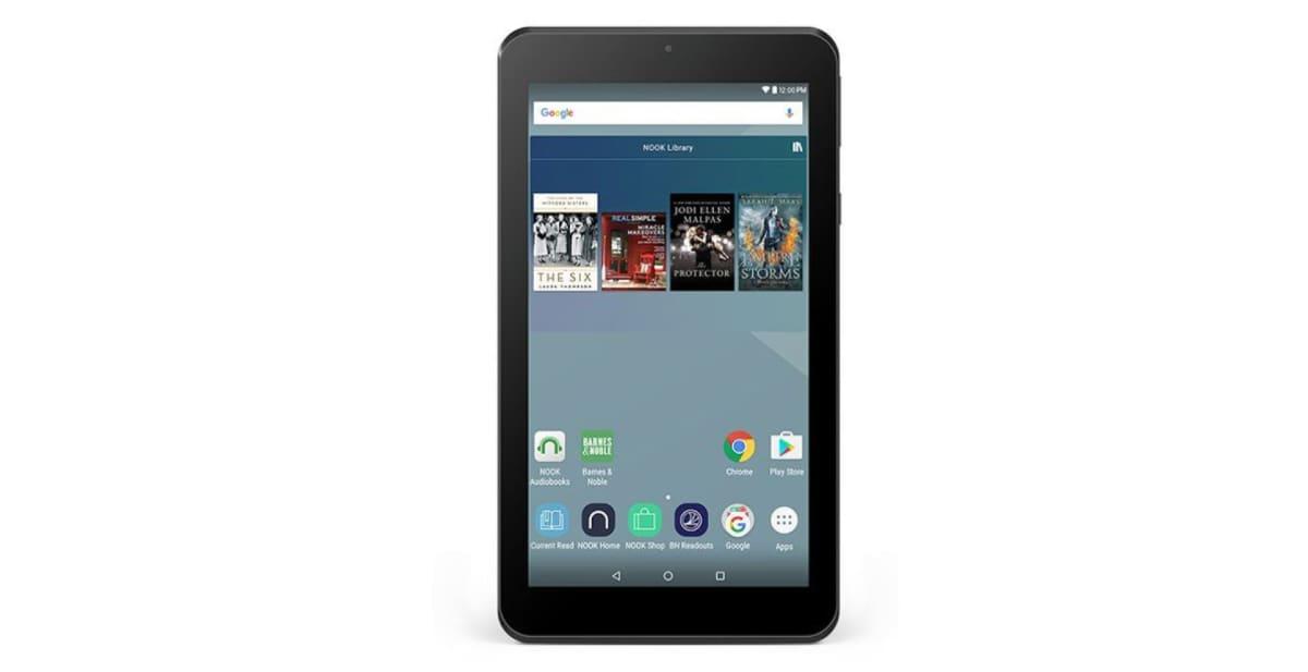NOOK Tablet 7″ lancia la sfida ad Amazon Fire: Android 6.0 e Play Store per 50$