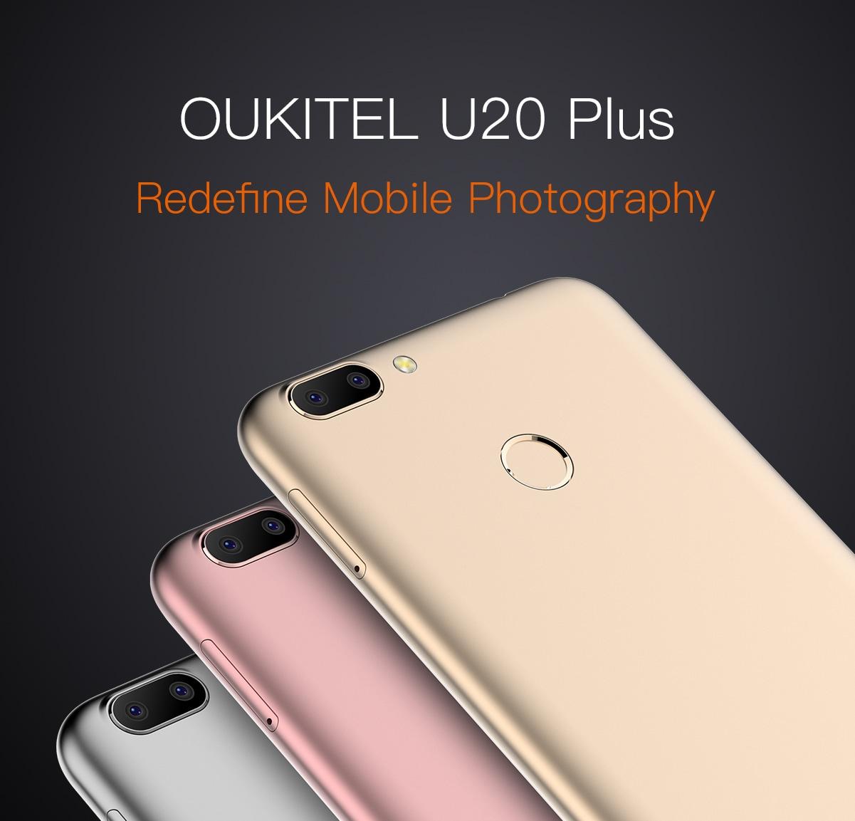 Oukitel U20 Plus arriverà questa settimana: nuove informazioni e prezzo (foto)