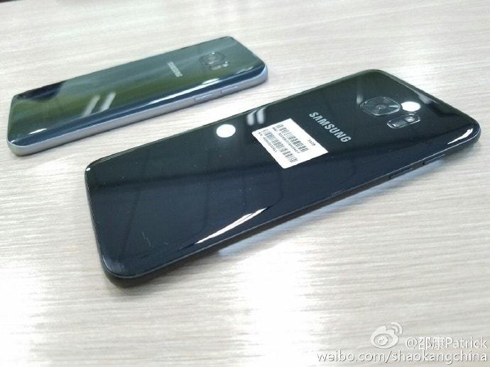 """Ecco le prime immagini di Galaxy S7 ed S7 edge """"jet (glossy) black"""" (foto)"""