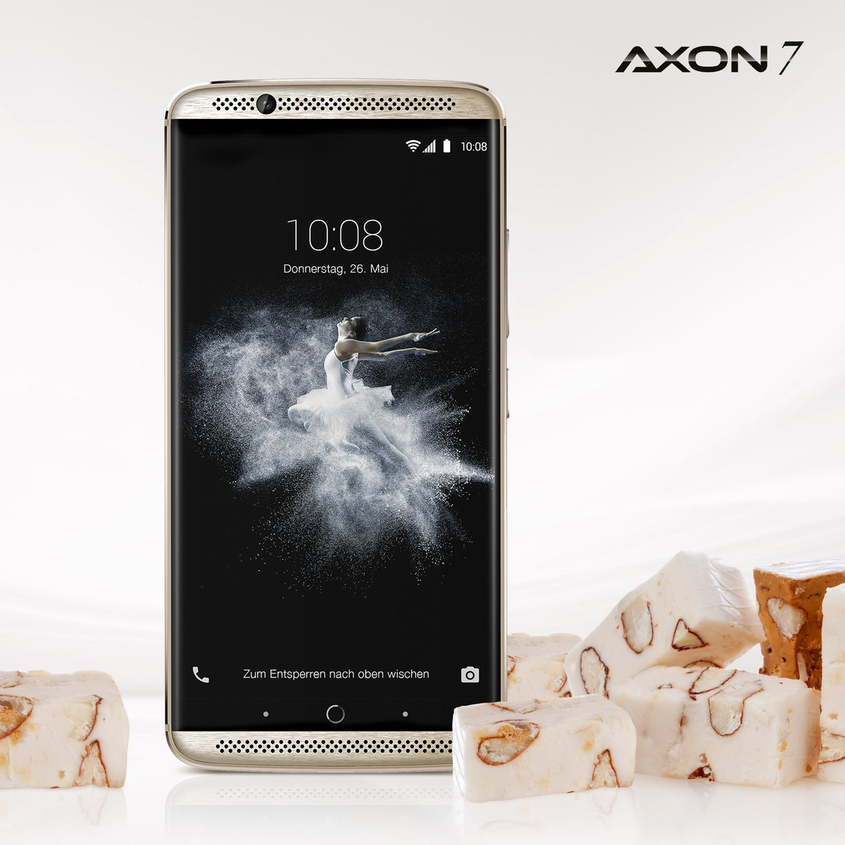 quality zte axon nougat phone can also