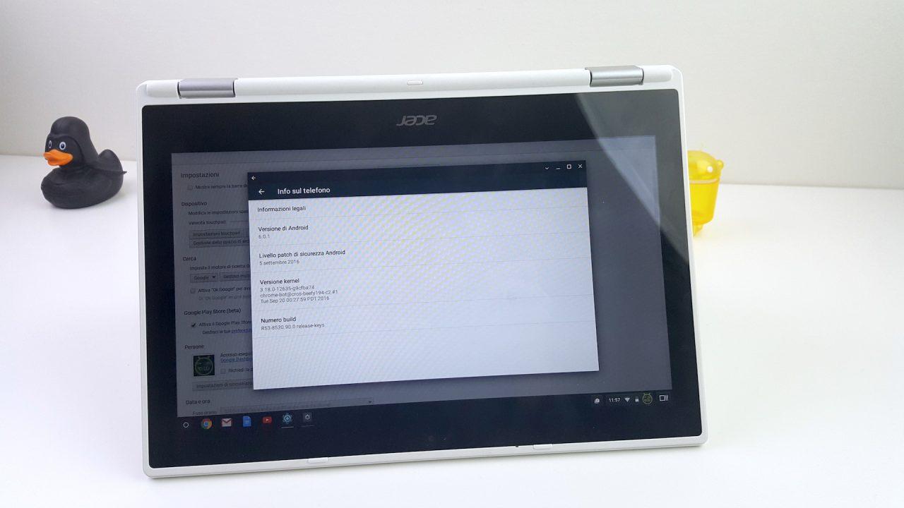 Android 7.1 dovrebbe arrivare su Chrome OS, prima o poi