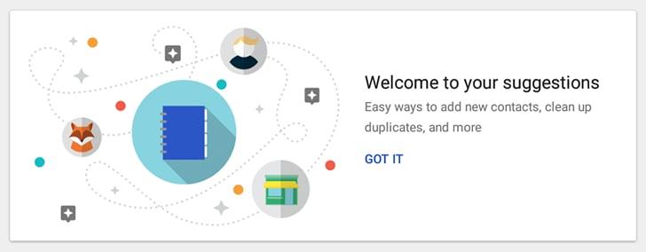 Contatti Google si aggiorna ed ora suggerisce i contatti da aggiungere (foto e download apk)