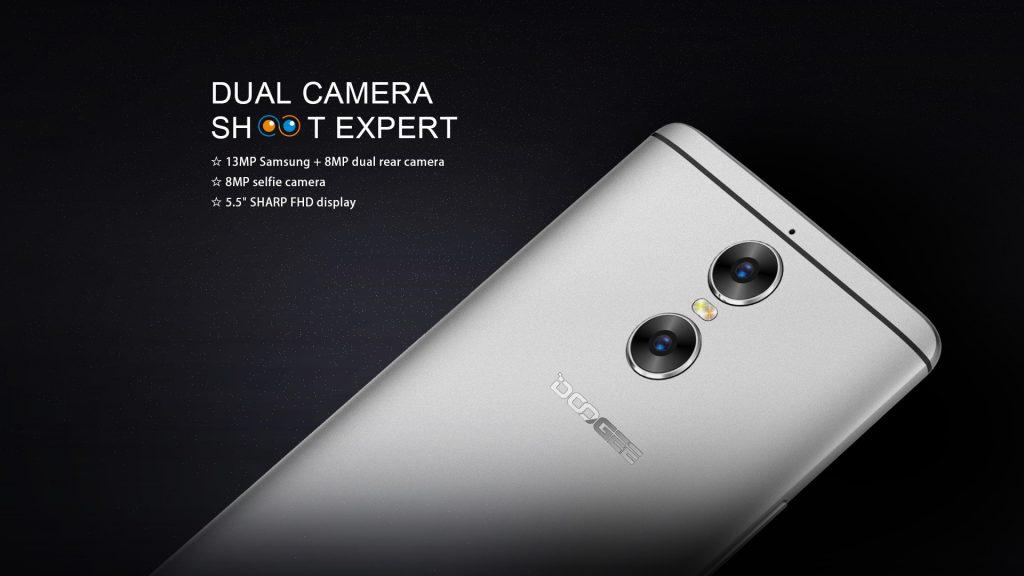 DOOGEE Shoot 1 è il primo smartphone con dual-camera del produttore cinese (foto e video)