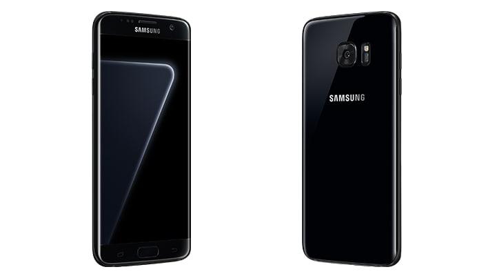 Galaxy S7 Edge Black Pearl ufficiale: il Jet Black di Samsung è ancora più glossy (foto)