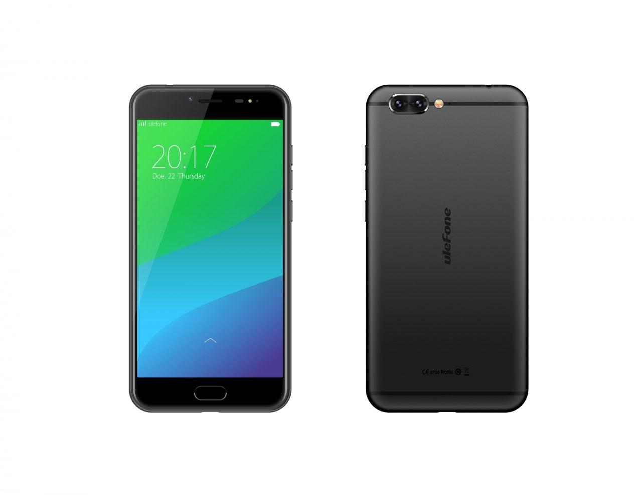 Ulefone Gemini Pro: doppia fotocamera da 13 MP e Android Nougat a 199,99$ (foto)