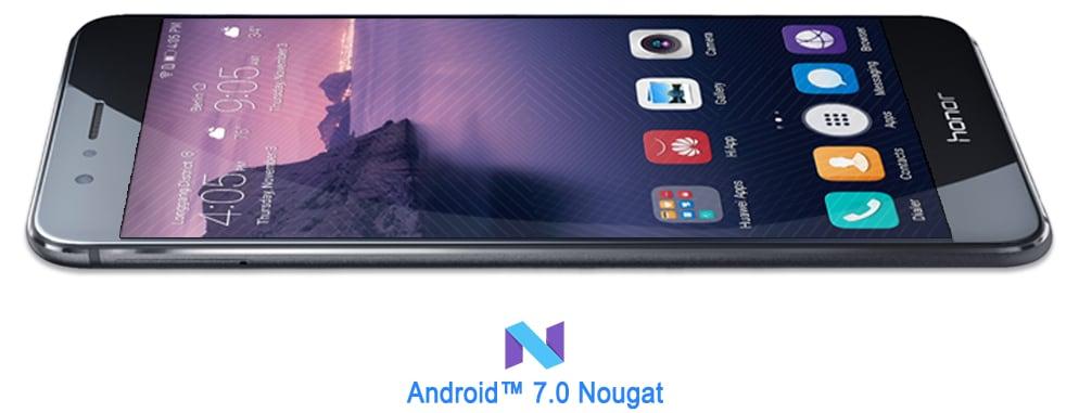 Honor 8 sarà aggiornato a Nougat febbraio 2017