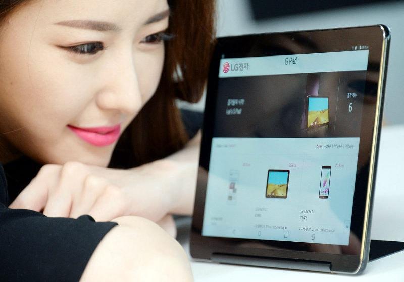 LG G Pad III 10.1 ha LTE, kickstand, è bello, sottile e sta dall'altra parte del mondo (foto)
