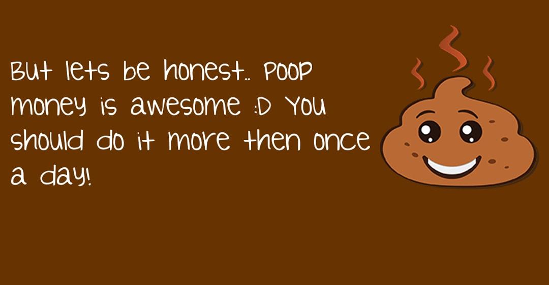 Quanto guadagnate stando in bagno? Potete scoprirlo con Poop Money! (foto)