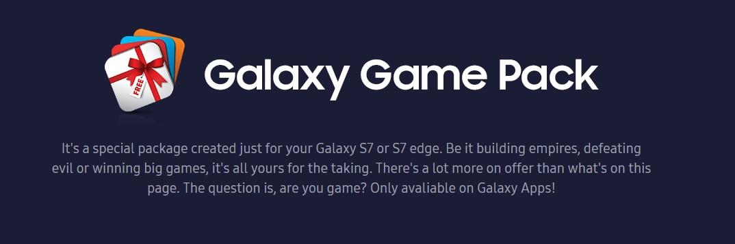 Galaxy Game Pack offre premi in omaggio a tutti i possessori di S7 ed S7 Edge (video)